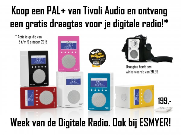PALplus actie - Tivoli Audio - Week van de Digitale Radio - Esmyer design Oss